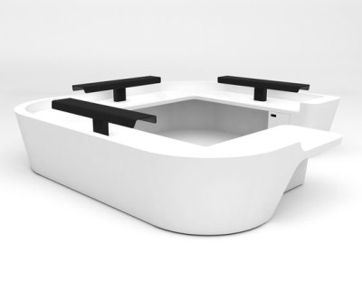 Mono Desk configuration 11 by isomi Ltd