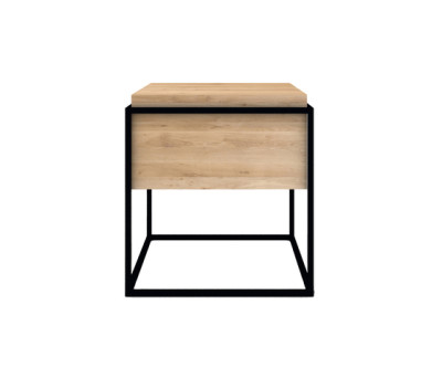 Monolit Side Table Medium Black