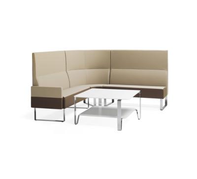 Monolite corner sofa by Materia