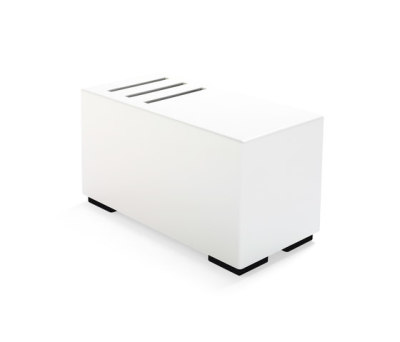 Monolog Table Magazine Holder by Materia