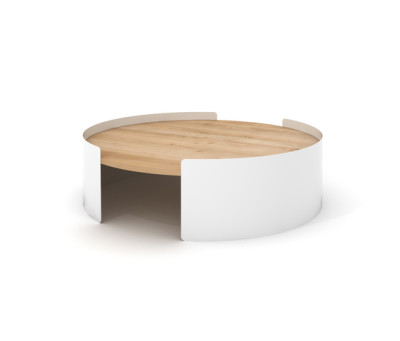 Moon Table Large White