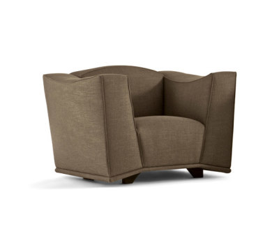 Mould Armchair by Giorgetti