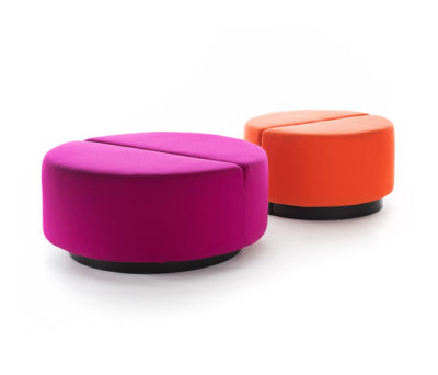 Movie pouf round by Martela Oyj