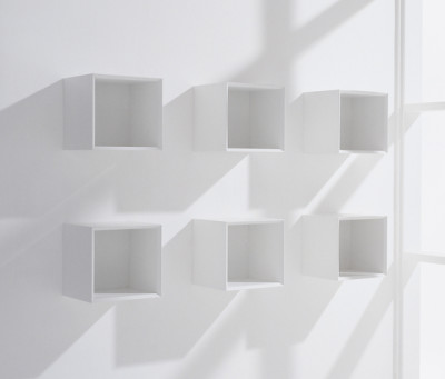 MQ shelves by Hund Möbelwerke