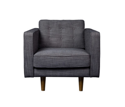 N101 Sofa - 1 seater Ashgrey