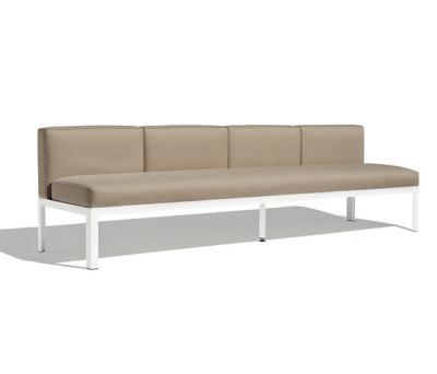 Nak 70 4-seater sofa by Bivaq