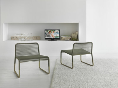 Narrot lounge chair by My home collection