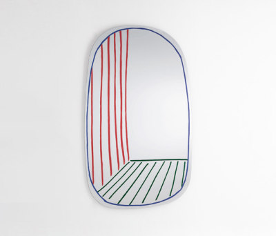 New Perspektive Mirror by Bonaldo