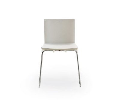 Nex chair plastic bianco 01