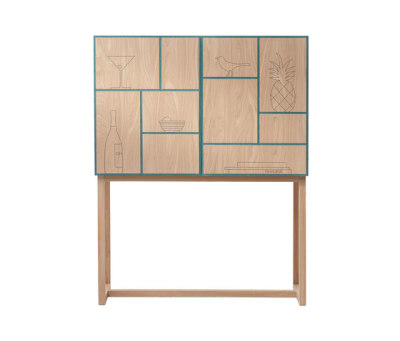 No Secrets Cabinet by A2 designers AB