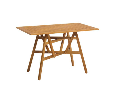 Nods Folding Table rectangular by Atelier Pfister