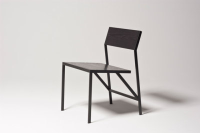 Noir Dining Chair by Farrah Sit