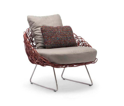Noodle Easy Armchair by Kenneth Cobonpue