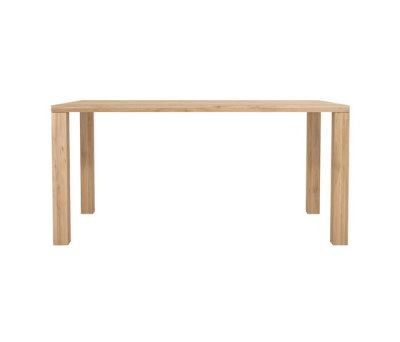 Oak Apron dining table 160 x 90 x 76 cm