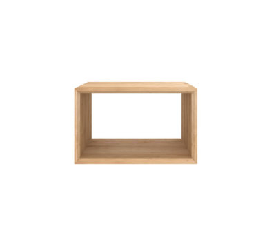Oak Cube close 45 x 42 x 45 cm