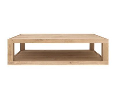 Oak Duplex coffee table by Ethnicraft