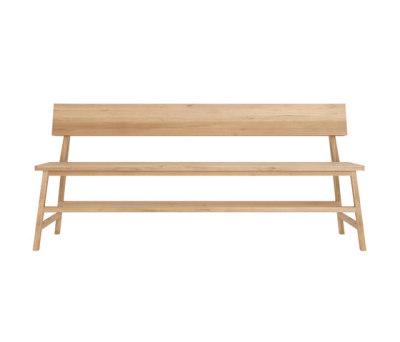 Oak N3 bench 180 x 50 x 81 cm