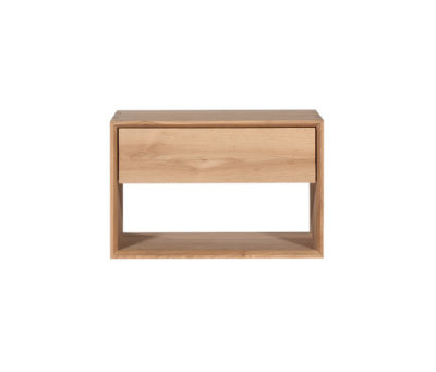 Oak Nordic bedside table