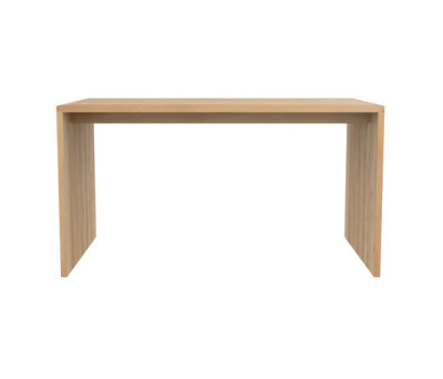 Oak Office U table 140 x 72 x 75 cm