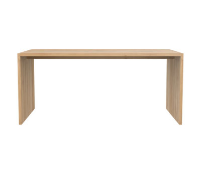 Oak Office U table 172 x 80 x 75 cm