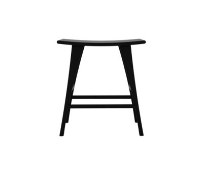 Oak Osso stool high by Ethnicraft