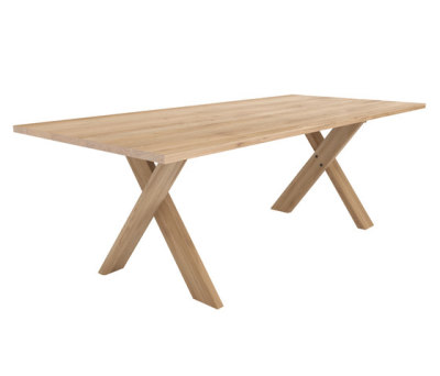 Oak Pettersson dining table 250 x 100 x 76 cm