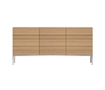 Oak Stonecut sideboard by Ethnicraft