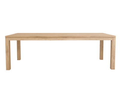 Oak Straight dining table by Ethnicraft
