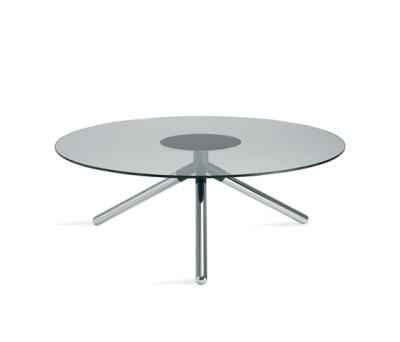 Obi pillar table by Materia