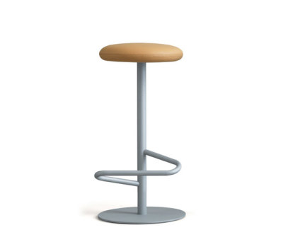 Odette Bar Stool 70 Stone Grey - FabricType D