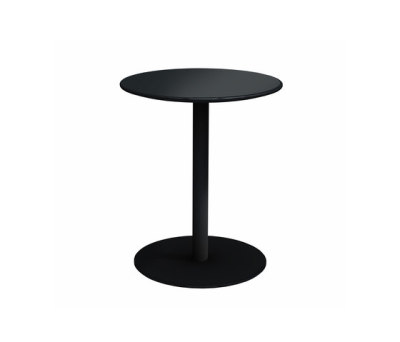 Odette Table Ø:50 H:60 cm Black - Laminate