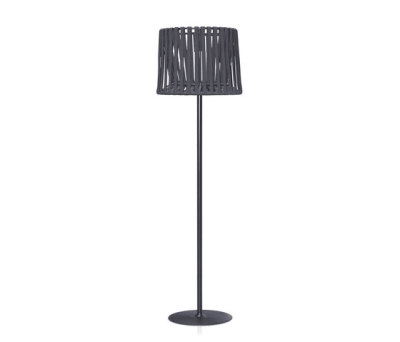 """Oh"" lamp Hand-woven floor lamp by Expormim"