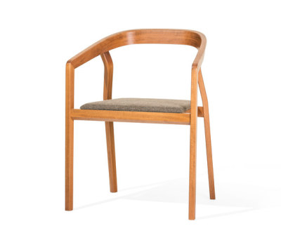One Armchair upholstered by TON
