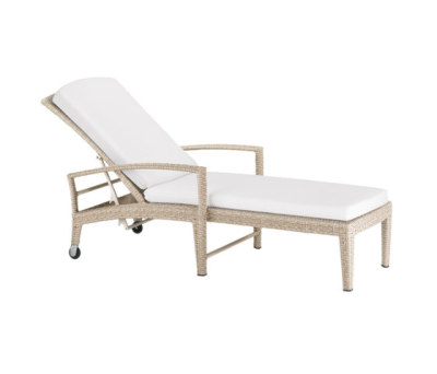 Panama Ecru Beach chair by DEDON