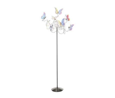Papillon floor lamp 7-iridescent by HARCO LOOR