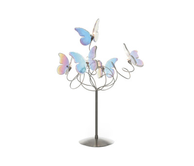 Papillon table lamp 5-iridescent by HARCO LOOR