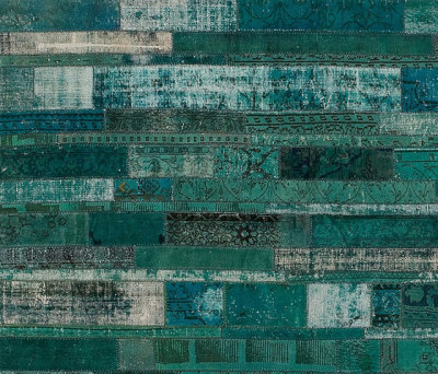 Patchwork Restyled turquoise by GOLRAN 1898