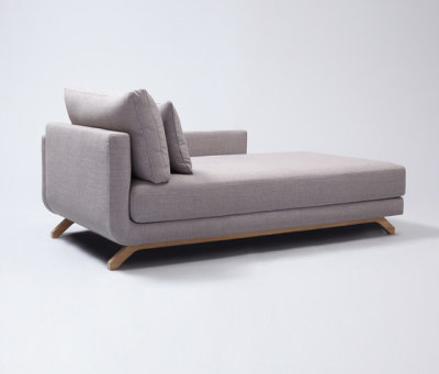 Pesto Chaise Longue by Comforty