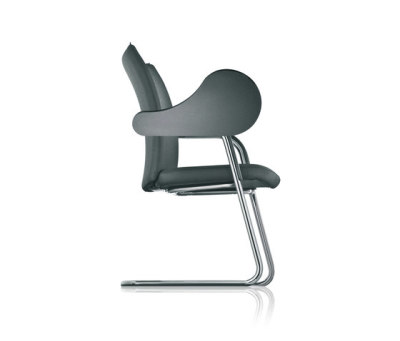 pharao cantilever chair, writing tablet by fröscher
