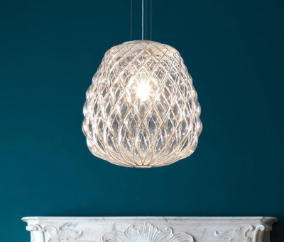 Pinecone Suspension lamp by FontanaArte