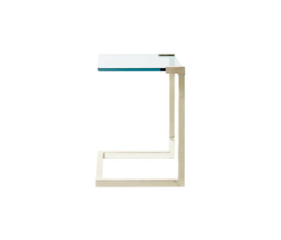 Pioneer T53C Side table brass matte