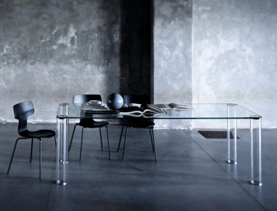 Pipeline table by Glas Italia
