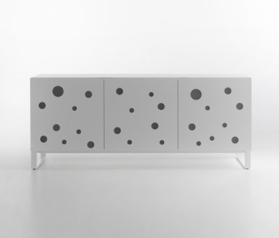 Polka Dots Full White by HORM.IT