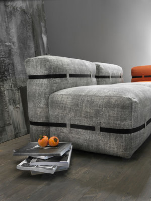 Pouffy sofa by My home collection
