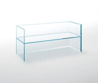 Prism Glass Sofa by Glas Italia