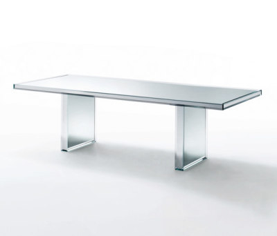 Prism Mirror Table by Glas Italia