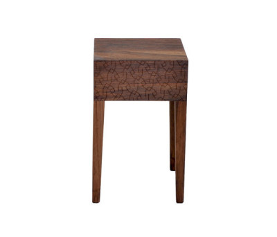 Quiet Table | Stool by Zanat