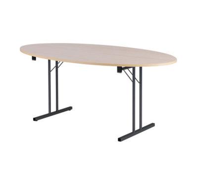 RBM Standard Folding Table Elipse by SB Seating