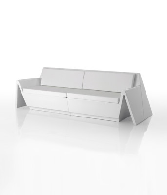 Rest sofa modular Corner White
