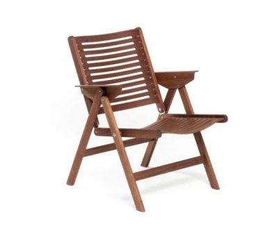 Rex Lounge Chair walnut by Rex Kralj